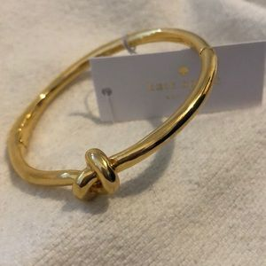 Kate Spade Sailors Knot Bangle NWT